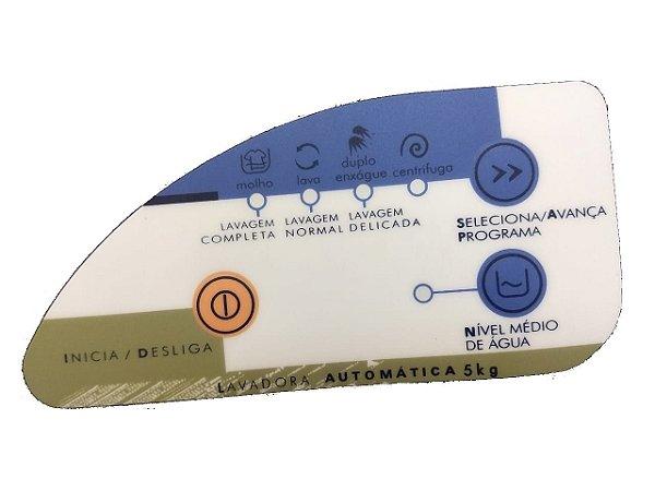 Painel Decorativo Compatível Lavadora Consul Automática 5Kg Cwc22