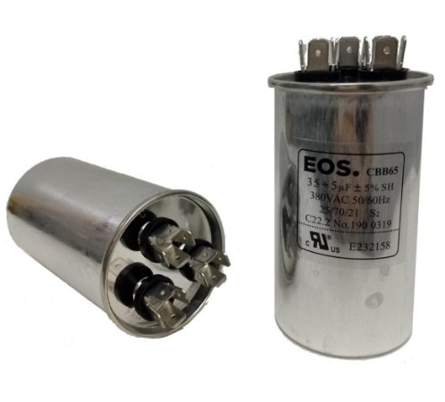 Capacitor 35+5 Uf 380V Copo Aluminio