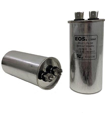 Capacitor 50 Uf 380V Copo Aluminio