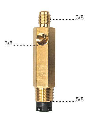 Adaptador Para Vacuômetro analógico  Suryha 80150071