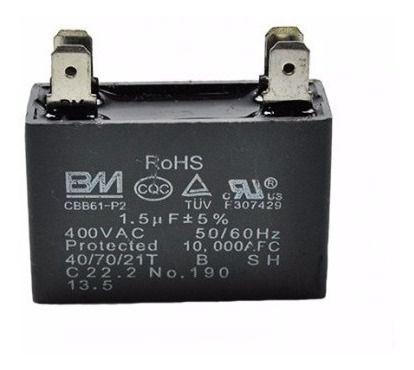 Capacitor Motor Ventilador 1.5 Uf