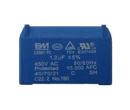 Capacitor  1,2 Uf 450V Cbb61 Para Placa Ar Condicionado