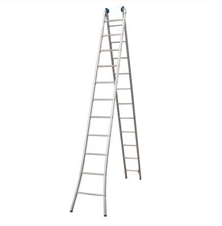 Escada Alumínio Extensível 2 X 11 Degraus Alumasa
