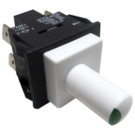 Interruptor FV Electrolux F210/250 Branco Com Lampada Verde
