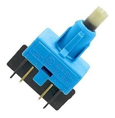 Interruptor Liga/Desliga Secadora Bsi24  Bsr10  Bsr24 Bsx10  Bsi10  Bsi24 Bsr24 Brastemp