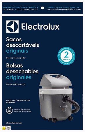 Kit Com 3 Sacos Para Aspirador Hidrovac Electrolux-70035082