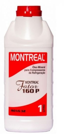 Óleo Montreal Mineral Iso Vg 32 Fator 160P - 1L