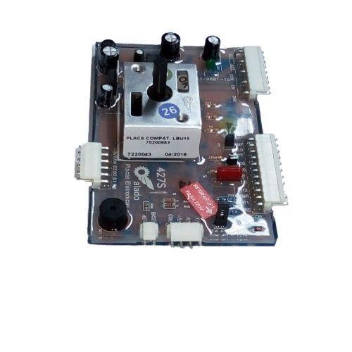 Placa Compatível Lavadora Electrolux Lbu15 Bivolt Alado