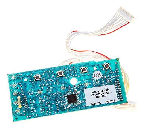 Placa Interface Compatível Lavadora Consul Cwl10 Cwl75 220V Alado