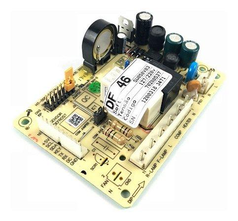 Placa Original Refrigerador Electrolux Df46 Df49 Bivolt