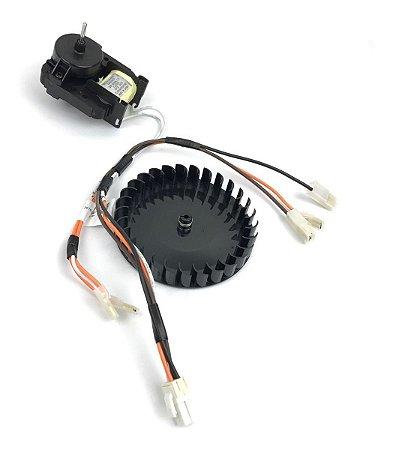 Motor Ventilador Refrigerador Electrolux Dc46 Dc48 Dc47a Dc49a 220v