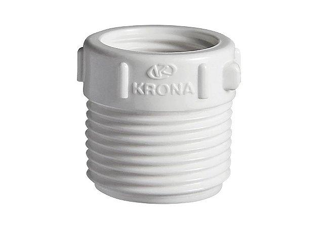 Bucha Redução Roscável 3/4 X 1/2 Krona Plastico