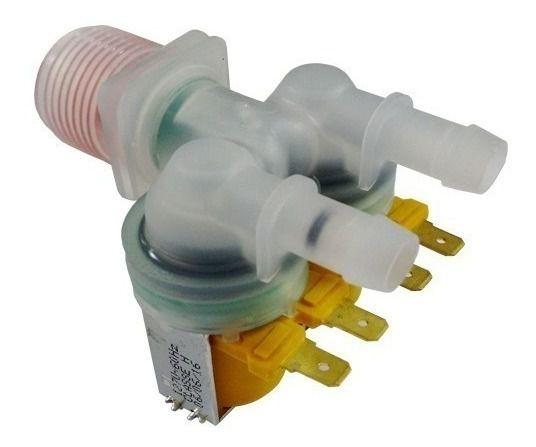 Válvula Entrada Dupla Compatível Lavadora Electrolux Lf11 Lm08 Lq10