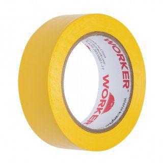 Fita Isolante 19mm X 10 Mts Amarela Worker