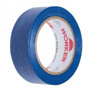 Fita Isolante 19Mm X 10 Mts Azul Worker