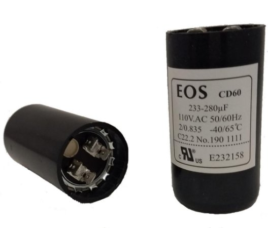 Capacitor Eletrolítico 233/280 Uf  110V
