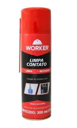 Limpa Contatos Spray 300Ml / 200G Worker