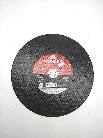 Disco Corte Aço Worker 304,8 X 3,2 X 19,05Mm