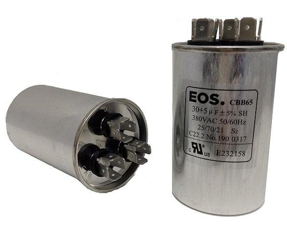 Capacitor 30+5 Uf Copo Aluminio