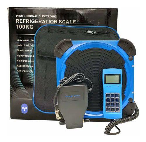 Balança Eletronica Com Maleta Wifi 100Kg Scale Tipi