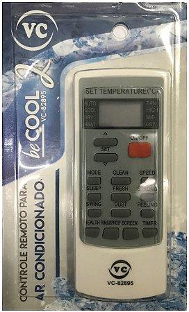 Controle Ar Condicionado Elgin Vc82895