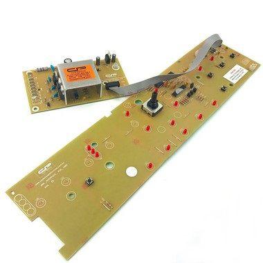 Placa Compatível Lavadora Brastemp Bwl09 Versão 1 Bivolt Sensor Tampa Liga Interface