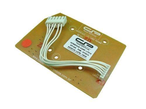 Placa Interface Compatível Lavadora Electrolux Ltc10 Ltc15 Ltc12 Lt11F Lt12F Lt15F Ltd09 Ltd11 Bivolt
