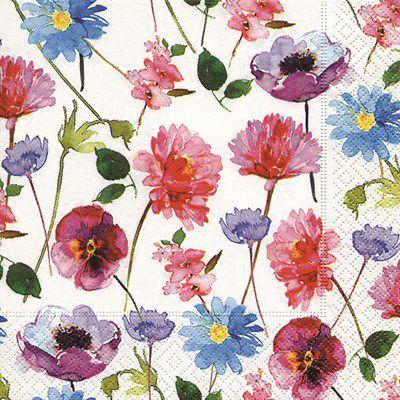 Pacote com 20 Guardanapos Blossom Rain