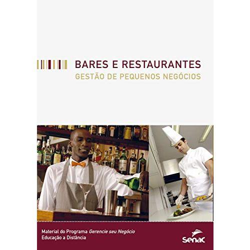Bares e restaurantes - Gestão de pequenos negócios