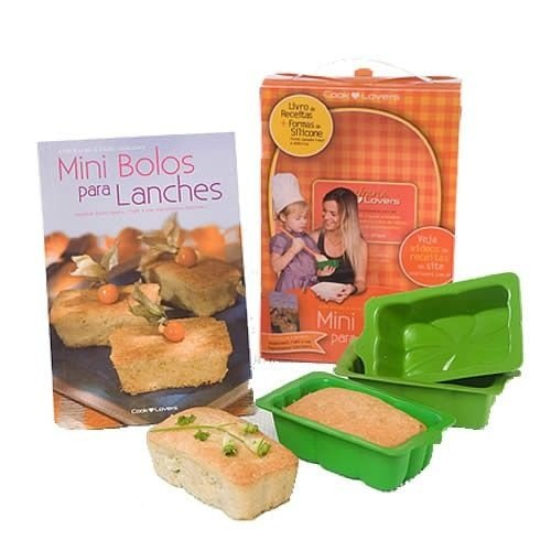Kit Mini Bolos para Lanches