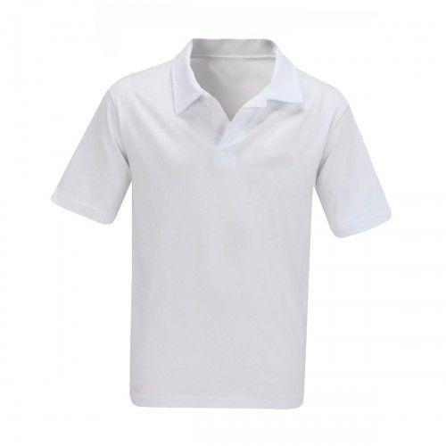 Camisa Gola Pólo Masculina Branca