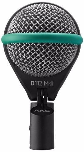 Akg D112 Mkii Microfone Para Bumbo Profissional