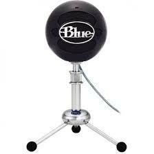 Microfone Condensador Blue Snowball Usb Black