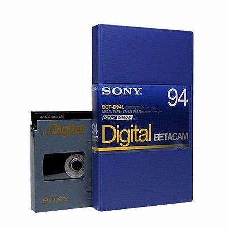Fita Betacam Digital Sony Bct-d64l
