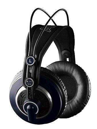 Headphone Para Studio E Dj Akg K240 Mkii
