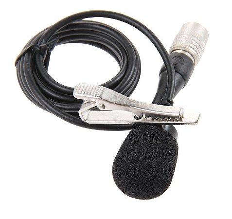 Audio Technica At829cw Microfone Condensador De Lapela