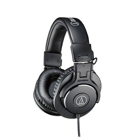 Audio Technica Ath-m30x Fone De Ouvido Profissional