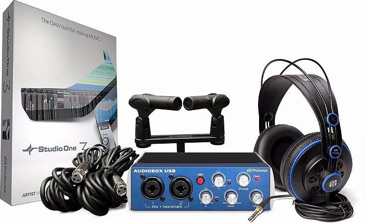 Presonus Audiobox Stereo Recording Bundle
