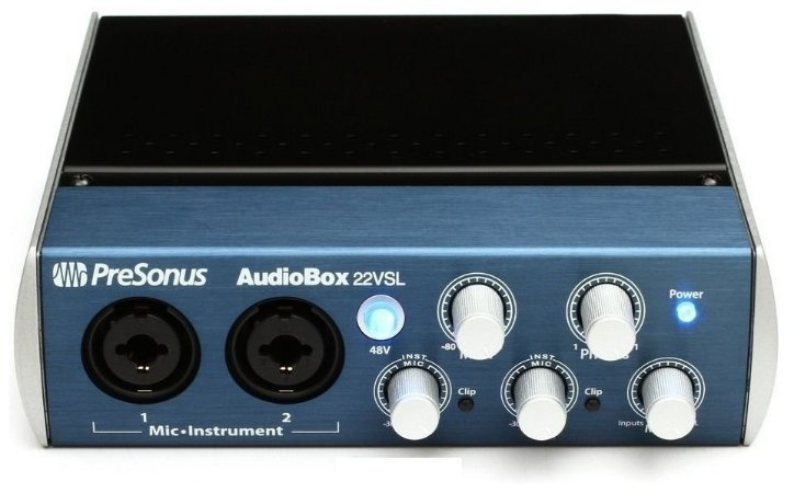 Presonus Audiobox 22vsl Interface Audio Placa De Som
