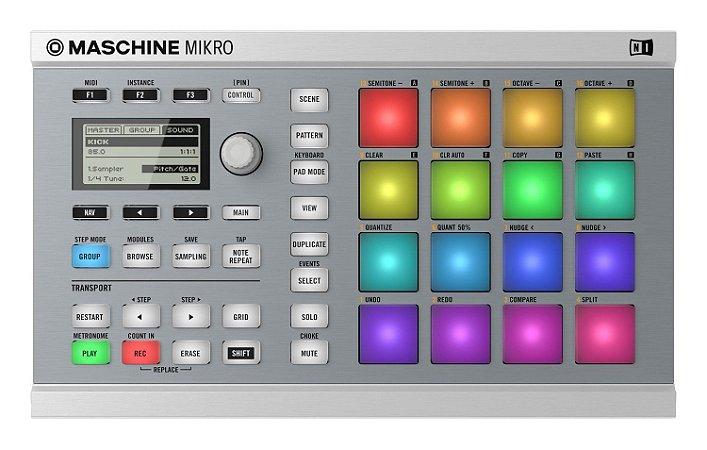 Native Instruments Maschine Mikro Mk2 Branco