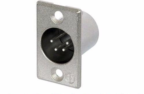 Conector Xlr Macho Painel Neutrik Nc4mp Original