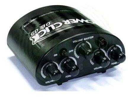 Amplificador Headphone Power Click Db05 Com Fonte