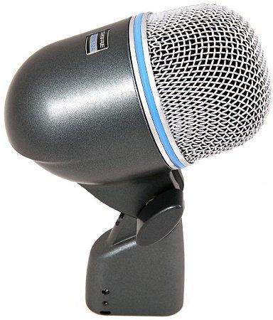 Microfone Para Bumbo E Amp. De Baixo Shure Beta 52A