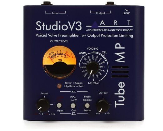 Pre Amplificador Valvulado Art Tube Mp Studio V3