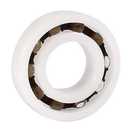 Rolamento Plastico R6 Com esfera de Vidro Medida 9,525x22,225x5,558