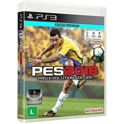 Game Pro Evolution Soccer 2018 - PES 2018 - PS3 [PRÉ VENDA]