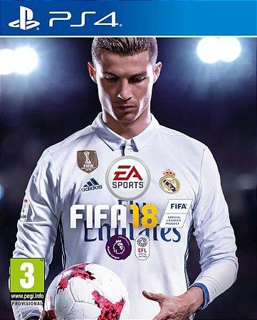 Game FIFA 18 - PS4 - Secundária [PRÉ VENDA]