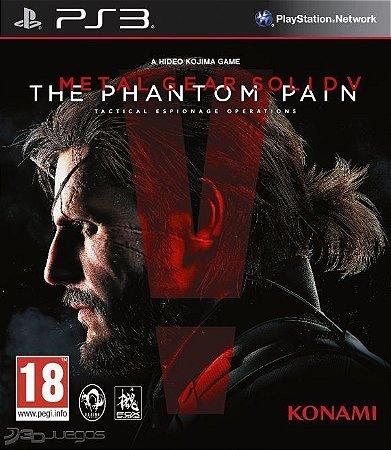 Metal Gear Solid V: The Phantom Pain - PS3 - Mídia Digital