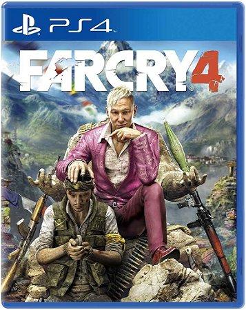 Far Cry 4 - PS4 - Mídia Digital Secundária