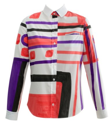 "A012CS006  TELA ""LONDON LONDON""  -  CAMISA FEMININA"